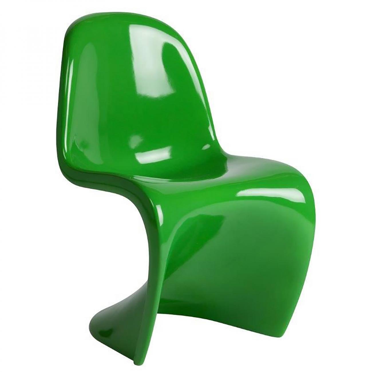 Купить Детский стул Pantone Зеленый в интернет магазине дизайнерской мебели и аксессуаров для дома и дачи