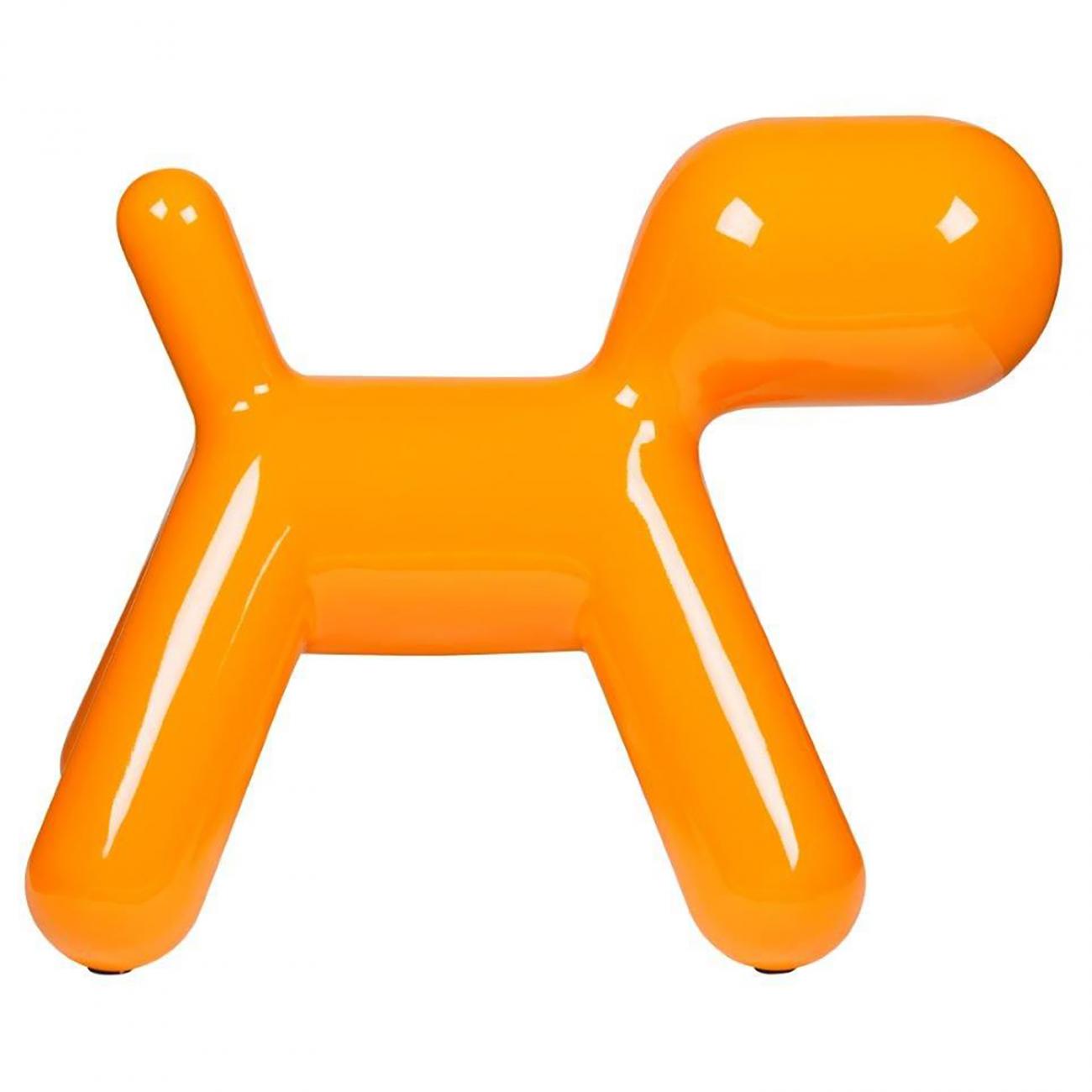 Купить Детское кресло Puppy Chair Big Orange в интернет магазине дизайнерской мебели и аксессуаров для дома и дачи