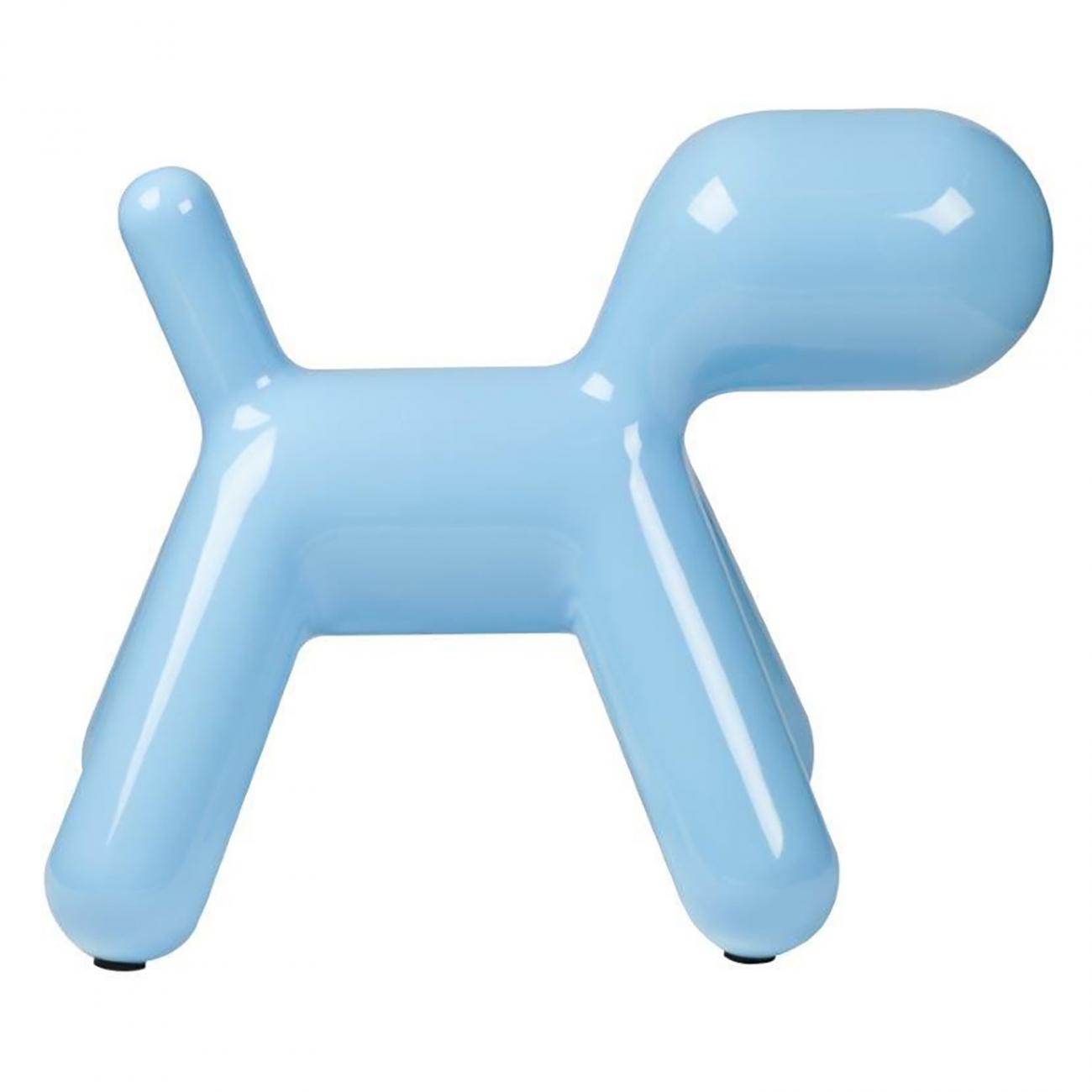 Купить Детское кресло Puppy Chair Medium Blue в интернет магазине дизайнерской мебели и аксессуаров для дома и дачи