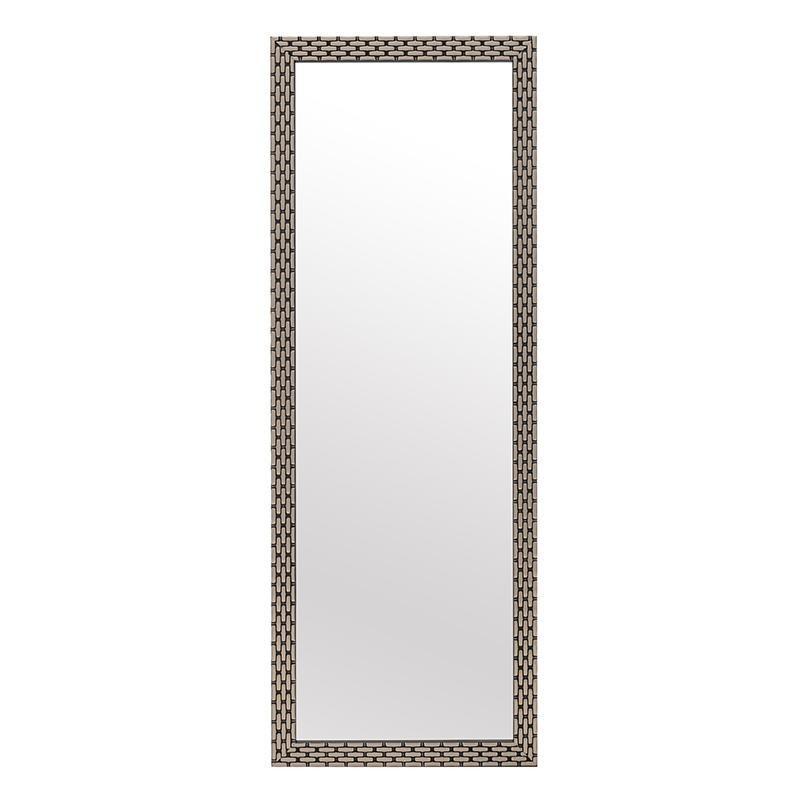 Зеркало Flo настенное в раме коричневого цвета