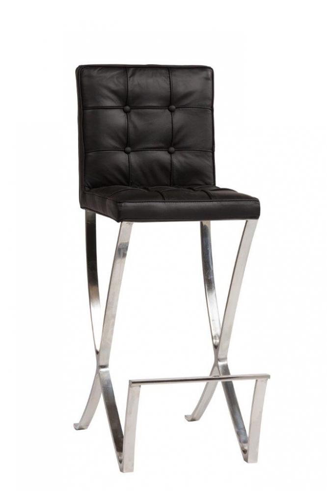 Стул Barcelona Dining Chair Черная Натуральная Кожа,  DG-F-CH563-2 от DG-home