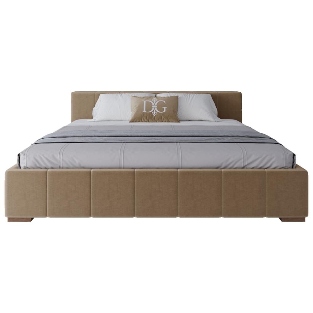 Кровать Squaring Basso 180х200 Бежевая ШерстьКровати<br>Удобная двуспальная кровать Classic выполненная <br>в классическом стиле, будет точкой притяжения <br>в вашей спальне. Модель с низкими ножками <br>имеет деревянный каркас, обшитый мебельным <br>поролоном и отделанный тканевой обивкой <br>бежевого цвета. Сдержанный дизайн кровати <br>делает её красивым предметом интерьера <br>спальни. Конструкция кровати Classic отличается <br>хорошим качеством, надежностью и сдержанной <br>красотой. Её бежевый цвет подойдет под любой <br>дизайн, а если кровать дополнить красивым <br>комплектом постельного белья, то интерьер <br>спальной комнаты будет более оригинальным <br>и стильным. Несомненно, данная модель достойна <br>высокой оценки. Приобретите кровать Classic <br>— в ней отлично сочетаются качество, внешний <br>вид и приемлемая цена! На заказ изготовим <br>любой цвет (из палетки на фото) и размер. <br>Срок изготовления заказной позиции — 30 <br>дней. Для заказа просто добавьте кровать <br>в корзину и оплатите картой.<br><br>Цвет: Бежевый<br>Материал: Шерсть<br>Вес кг: 71<br>Длина см: 193<br>Ширина см: 213<br>Высота см: 102