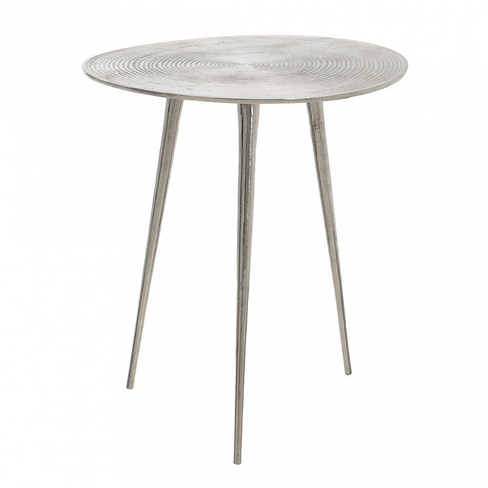 Стол Baly серебристого цвета