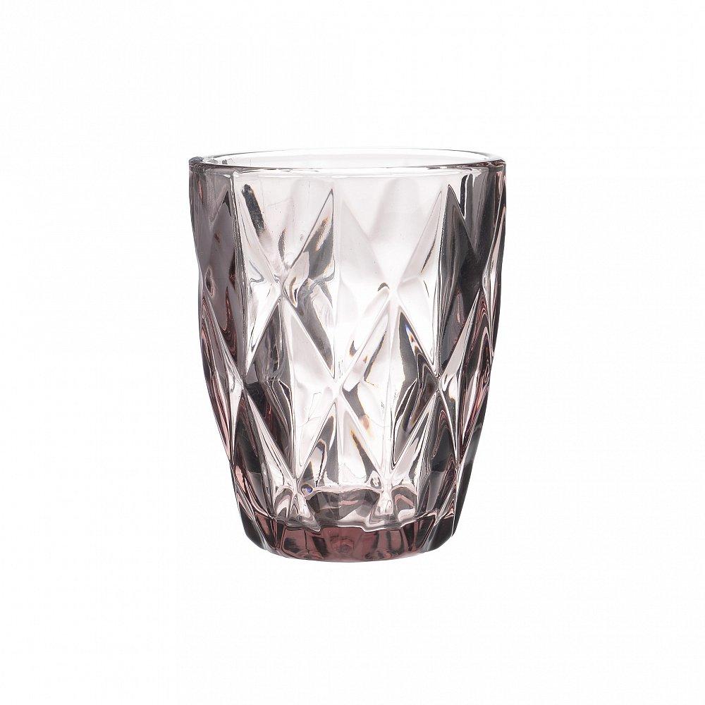 Набор бокалов, 6 шт. Blisk розового цвета