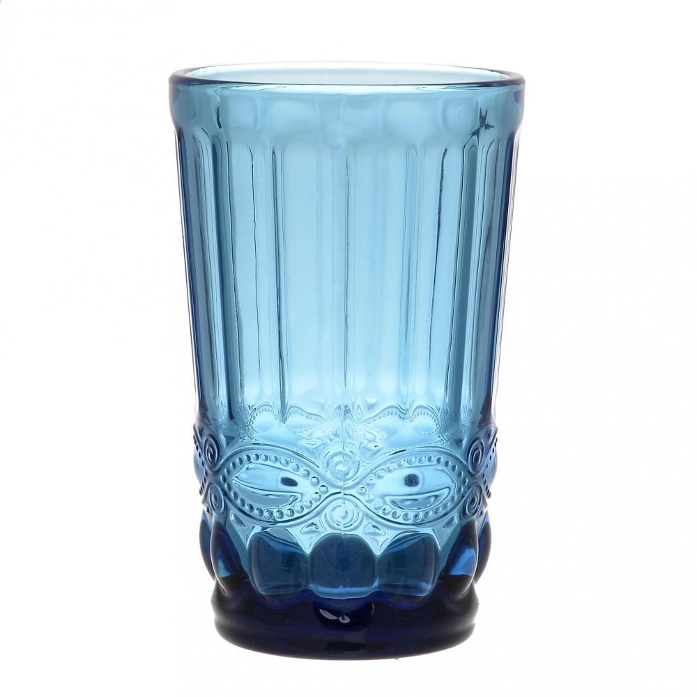 Набор бокалов, 6 шт. Priza синего цвета