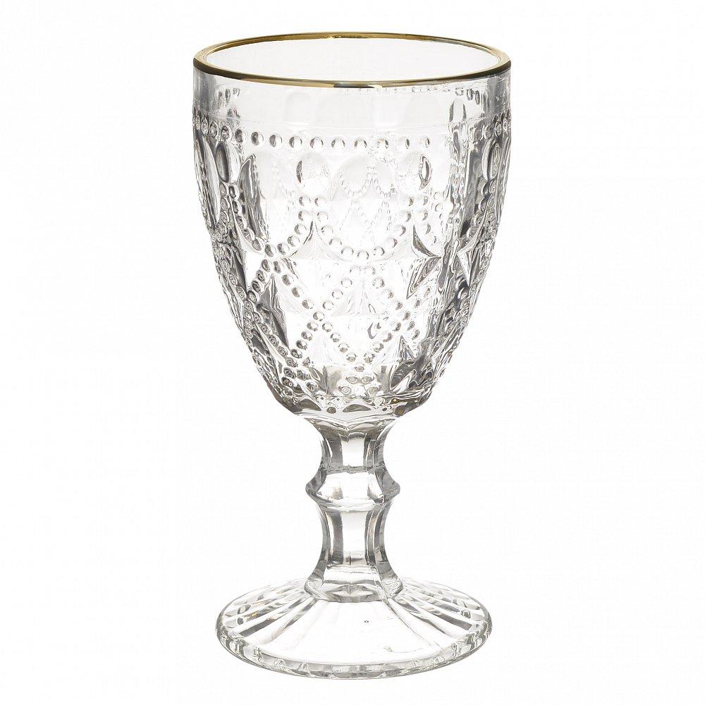 Набор бокалов, из 6 шт. Crona S прозрачный, золотого цвета