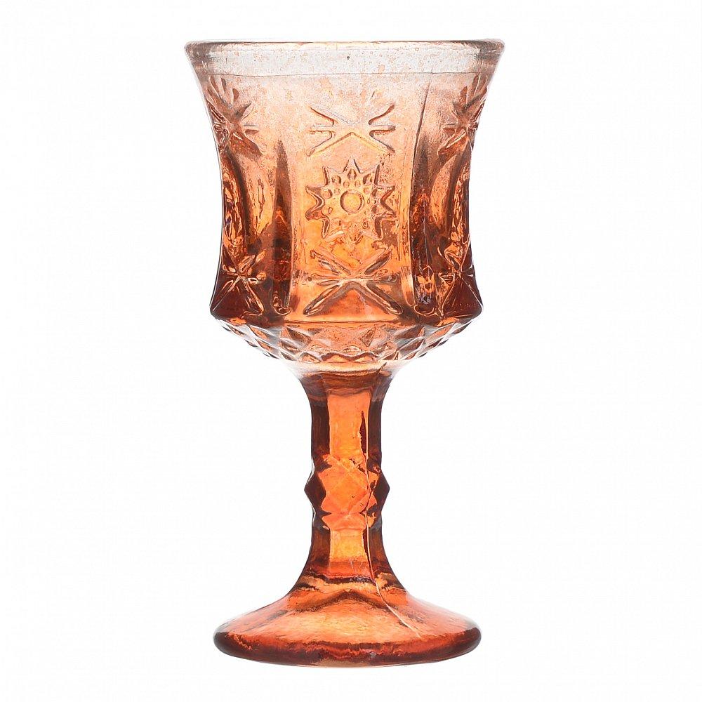 Набор бокалов, из 6 шт. Color красного цвета