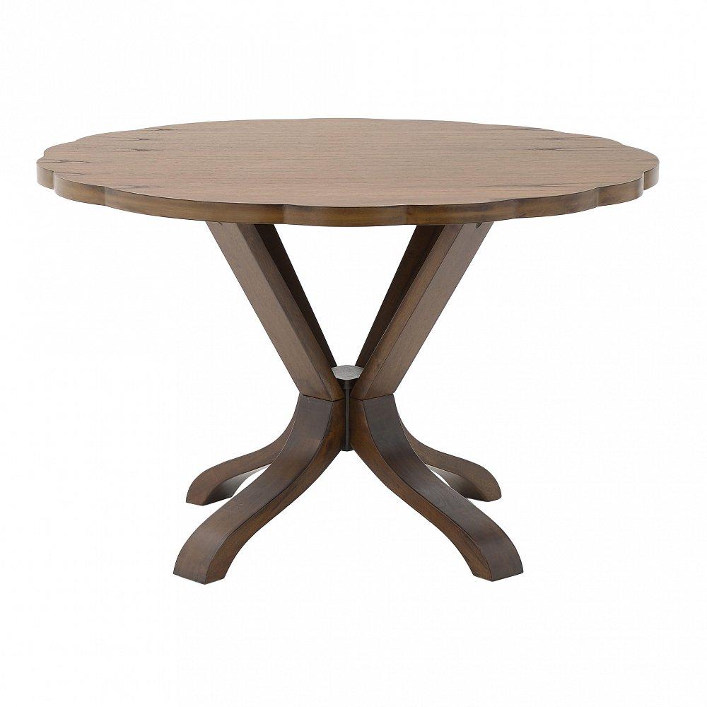 Стол обеденный Goly коричневого цвета