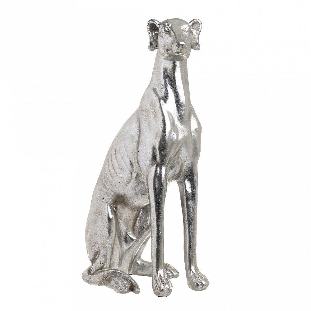 Статуэтка DOG серебристого цвета