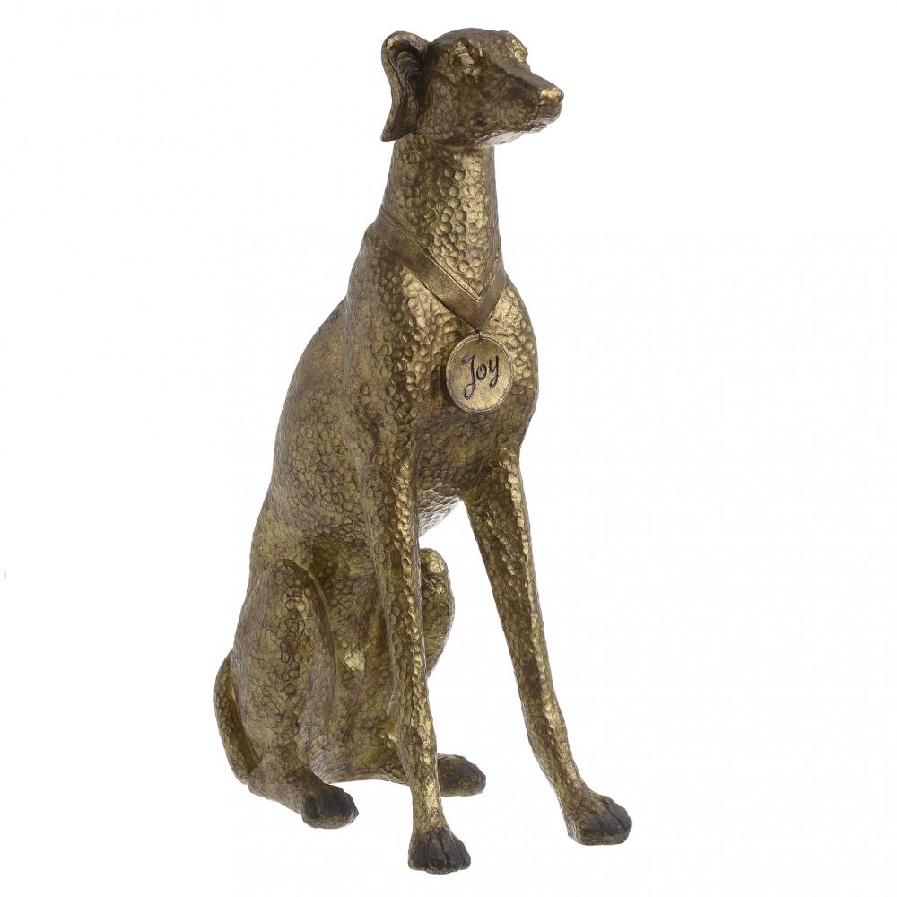 Статуэтка DOG золотого цвета