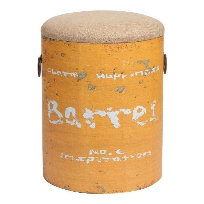 Купить Столик-табурет Barrel Orange в интернет магазине дизайнерской мебели и аксессуаров для дома и дачи