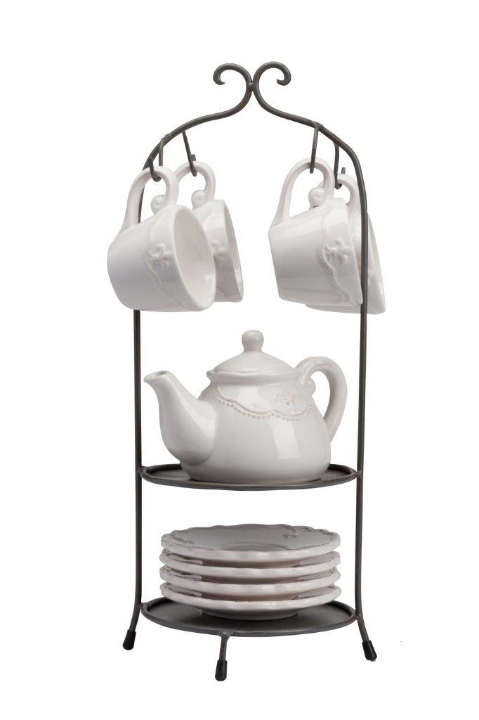 Купить Чайный набор на подставке Treffen в интернет магазине дизайнерской мебели и аксессуаров для дома и дачи