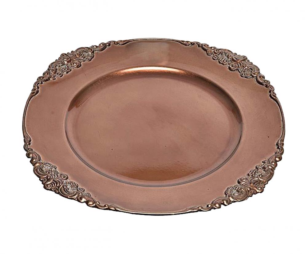 Блюдо Design коричневого цвета