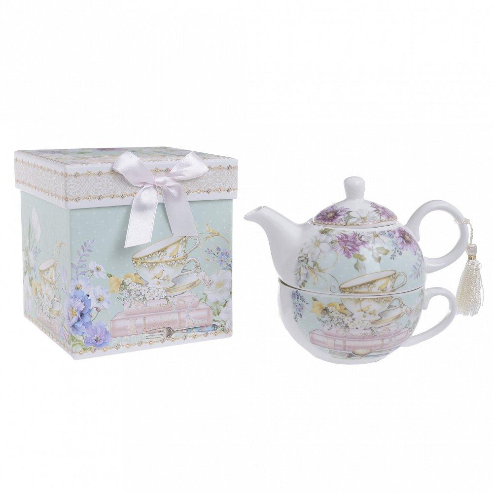 Чайник с чашкой в подарочной упаковке  Muta