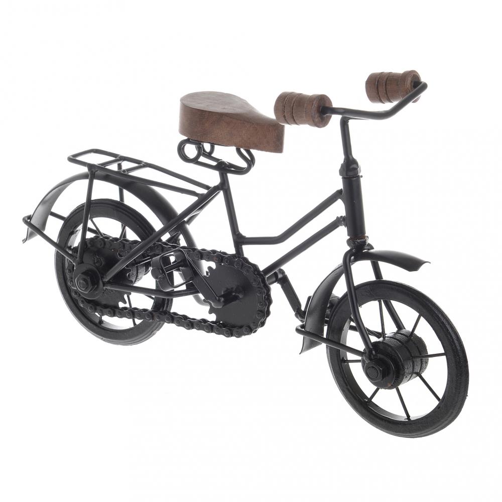 Модель велосипеда чёрного цвета