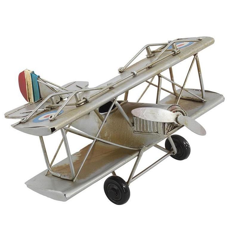 Модель аэроплана  бежевого цвета