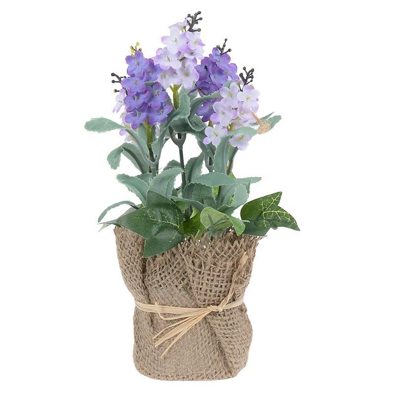 Искусственный цветок в кашпо