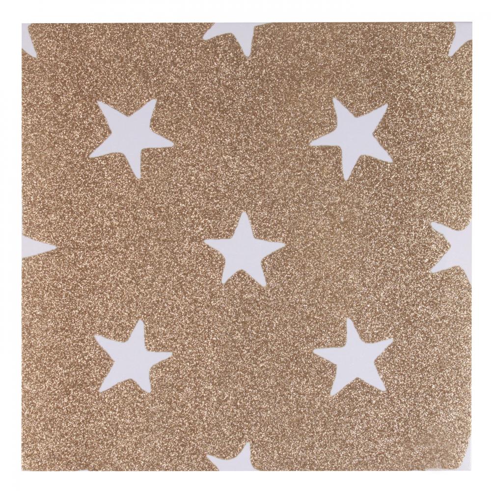 Панно настенное Stars коричневого цвета