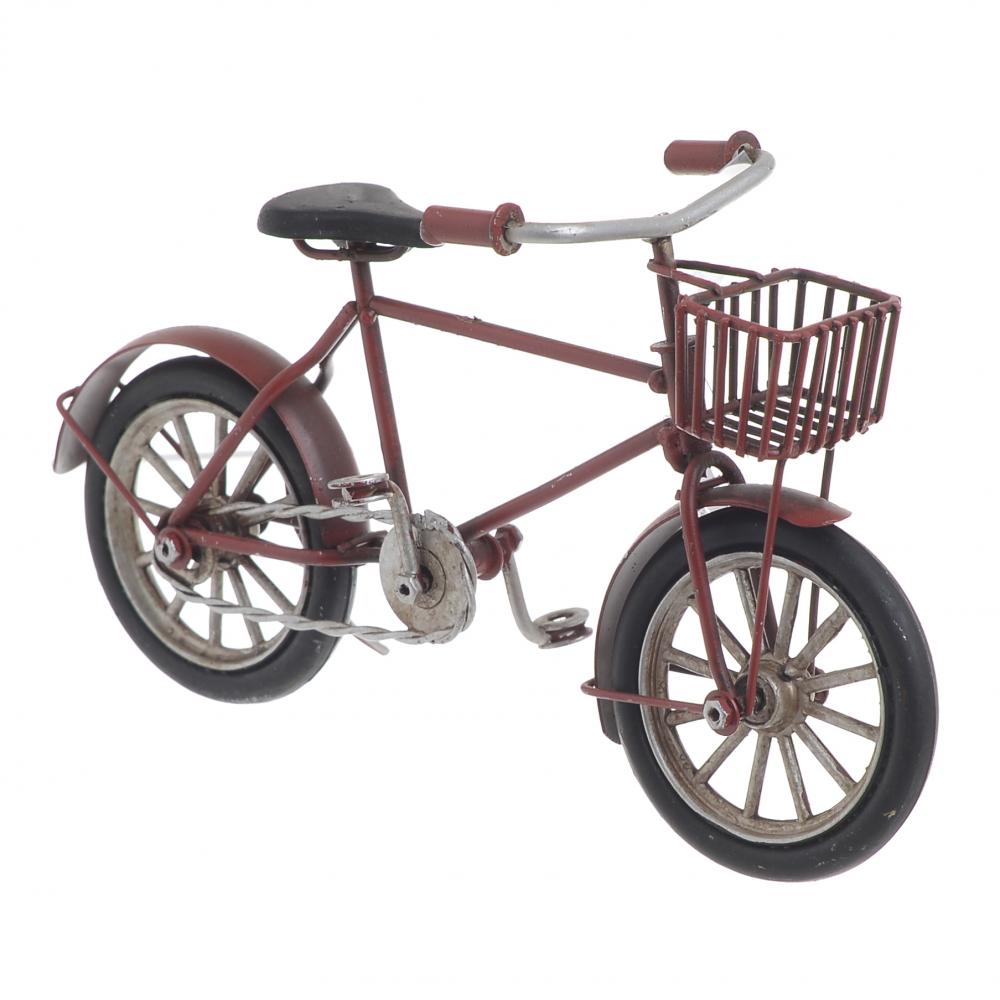 Модель велосипеда  красного цвета