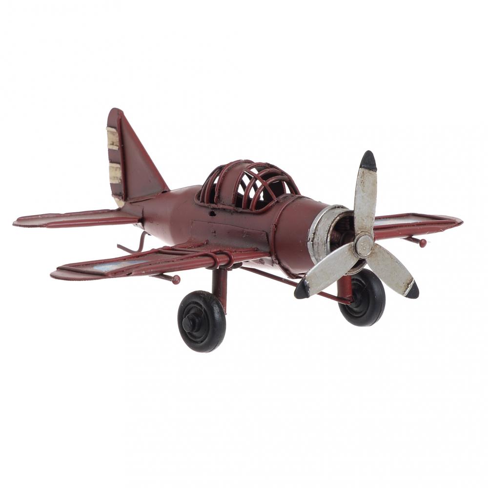 Модель аэроплана  красного цвета
