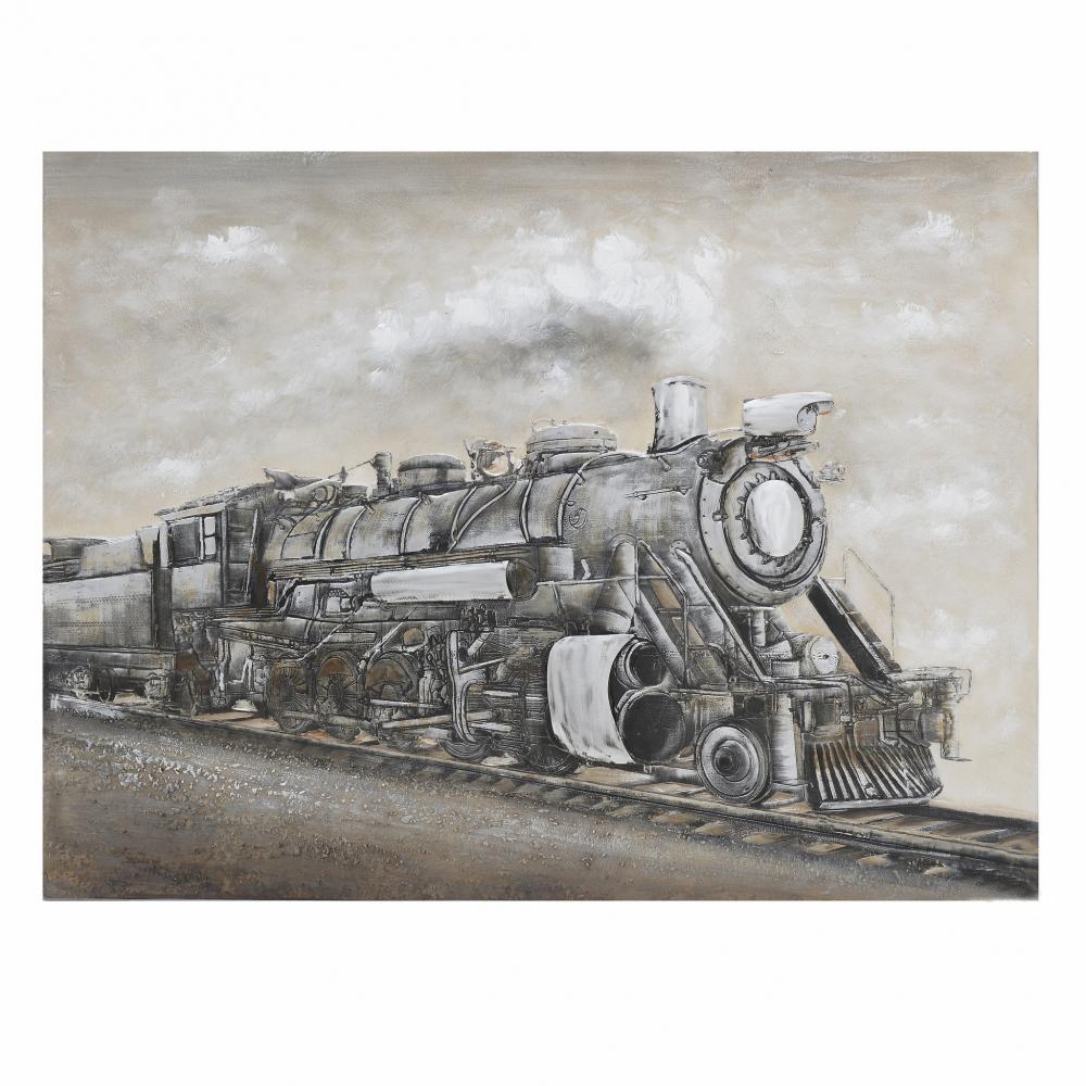 """Картина на подрамнике """"Поезд"""""""