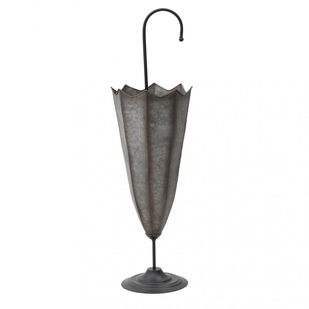 Подставка для зонтов Zorro серебристого цвета