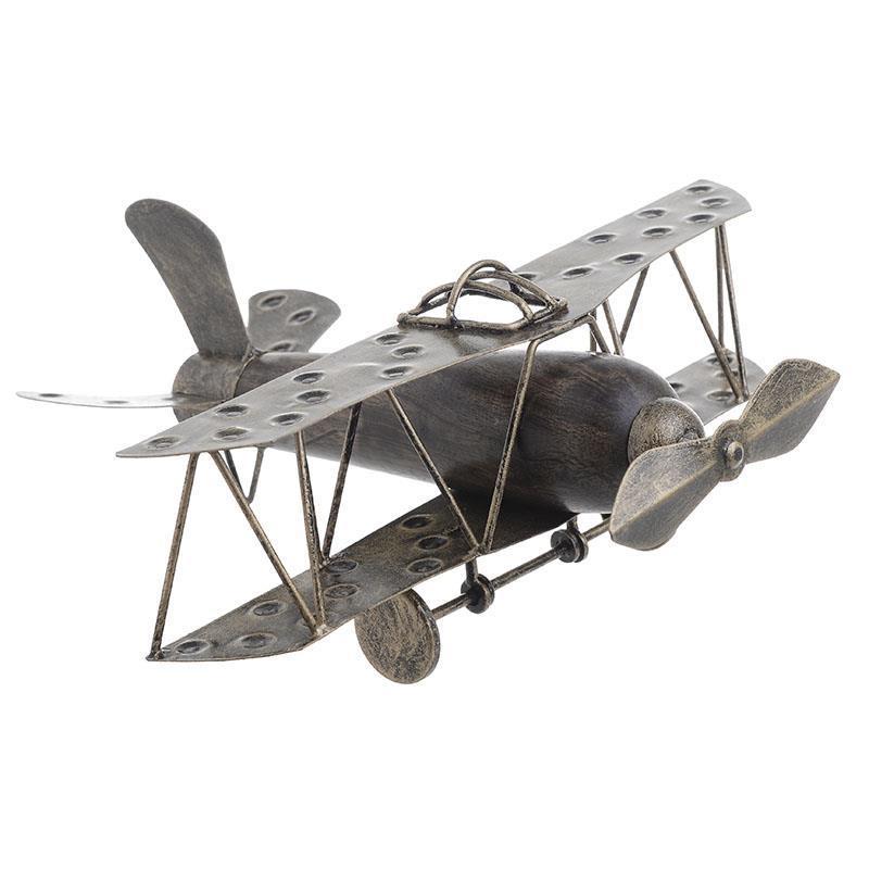 Модель аэроплан  коричневого цвета