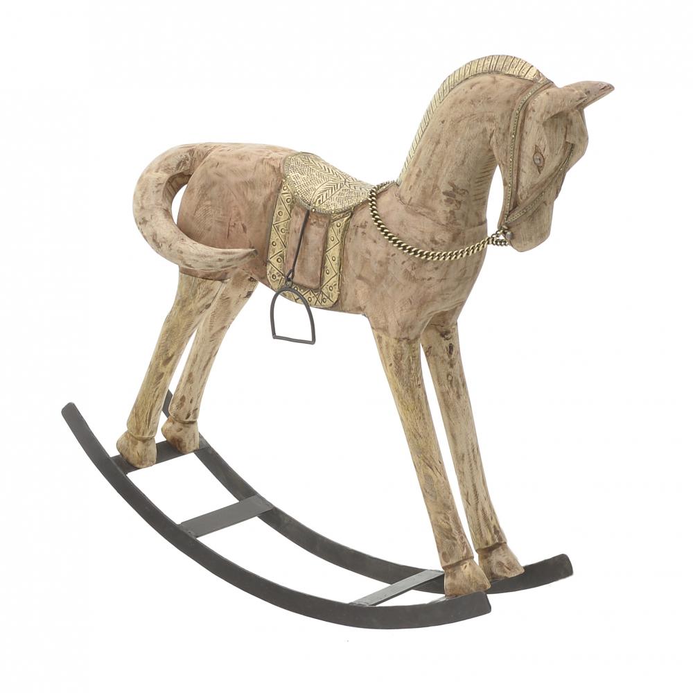 Лошадка золотого цвета