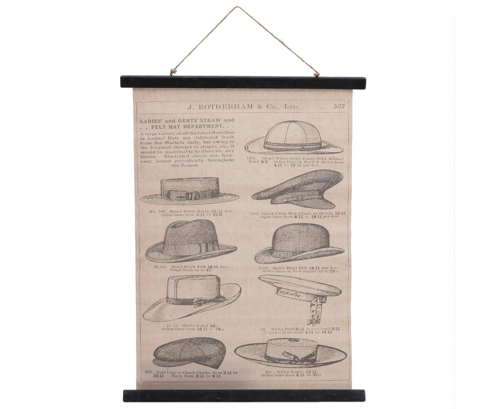 Панно Hats