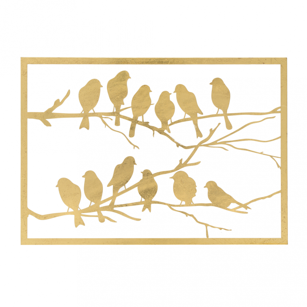 Панно Murphy золотого цвета