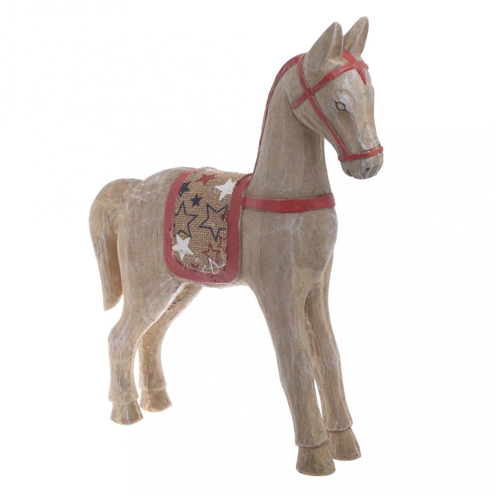 Лошадка коричневого цвета