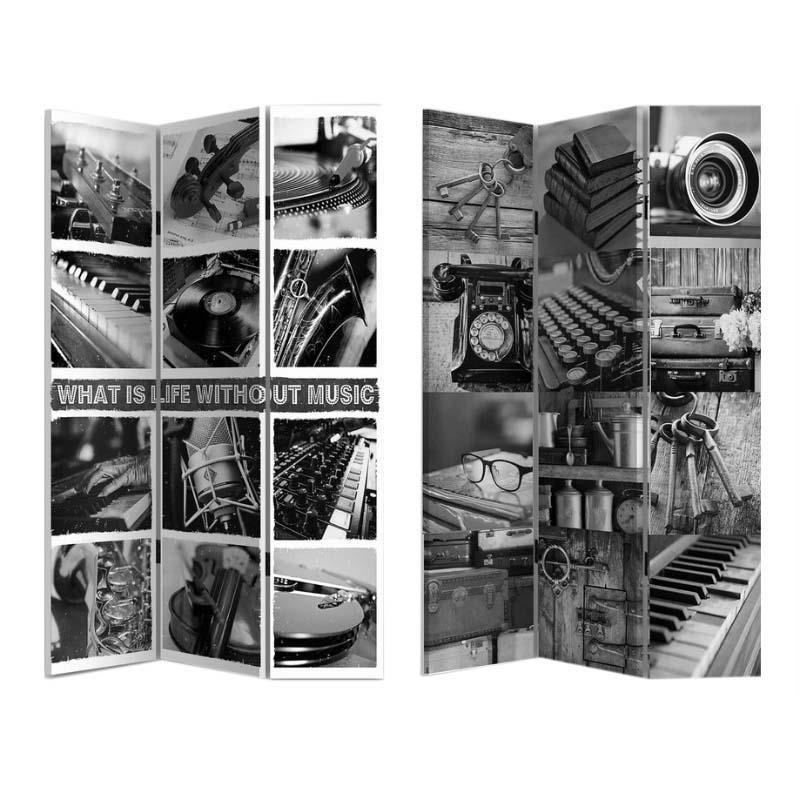 Ширма Music серого цвета