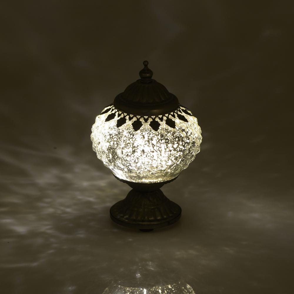 Фонарь с LED Silver