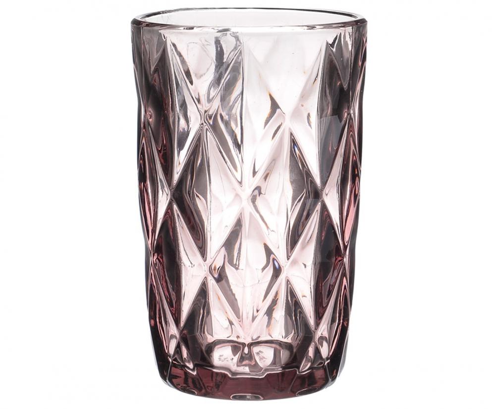 Набор стаканов, 6 шт.  розового цвета