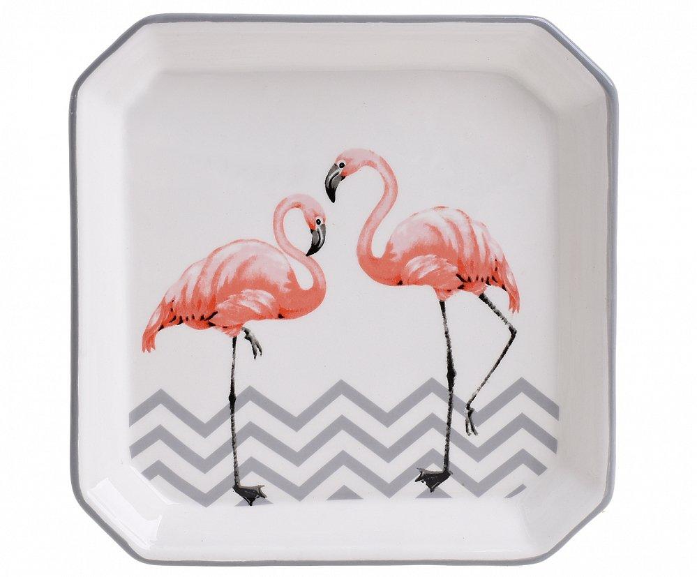 Тарелка Фламинго