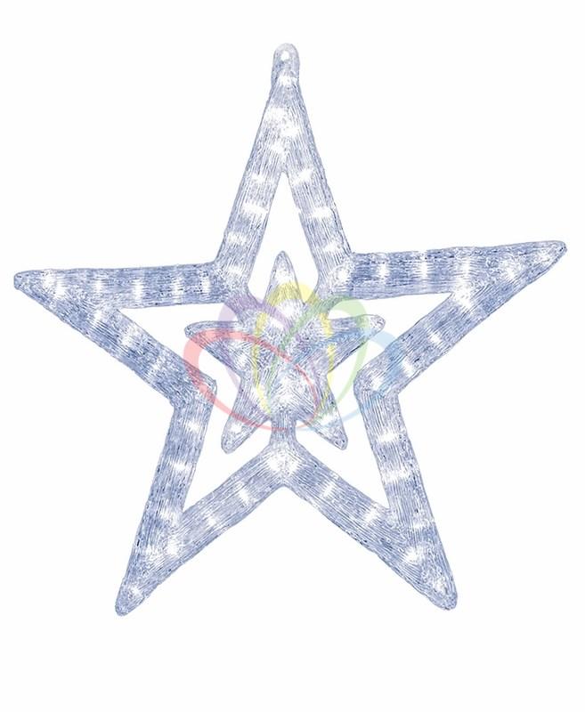 Акриловая светодиодная фигура  Звезда