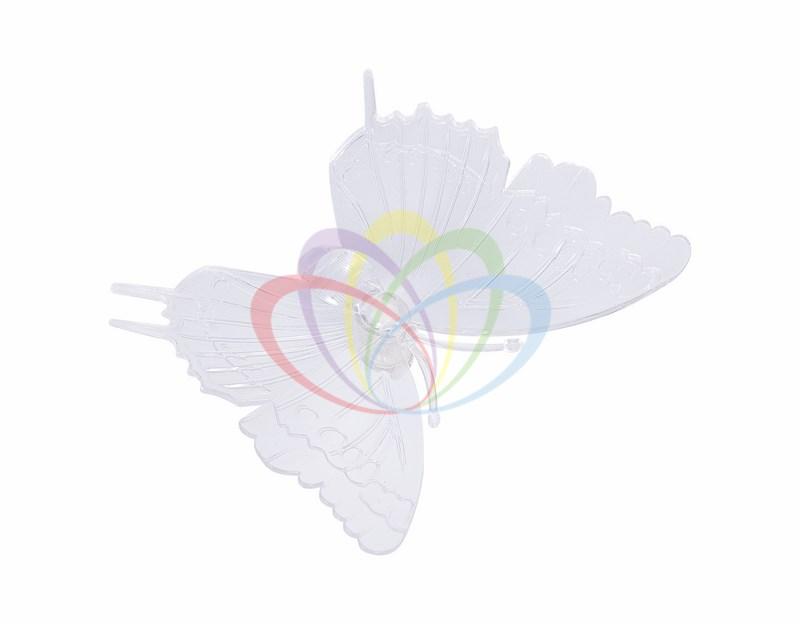 Фигура светодиодная на присоске Бабочка, RGB