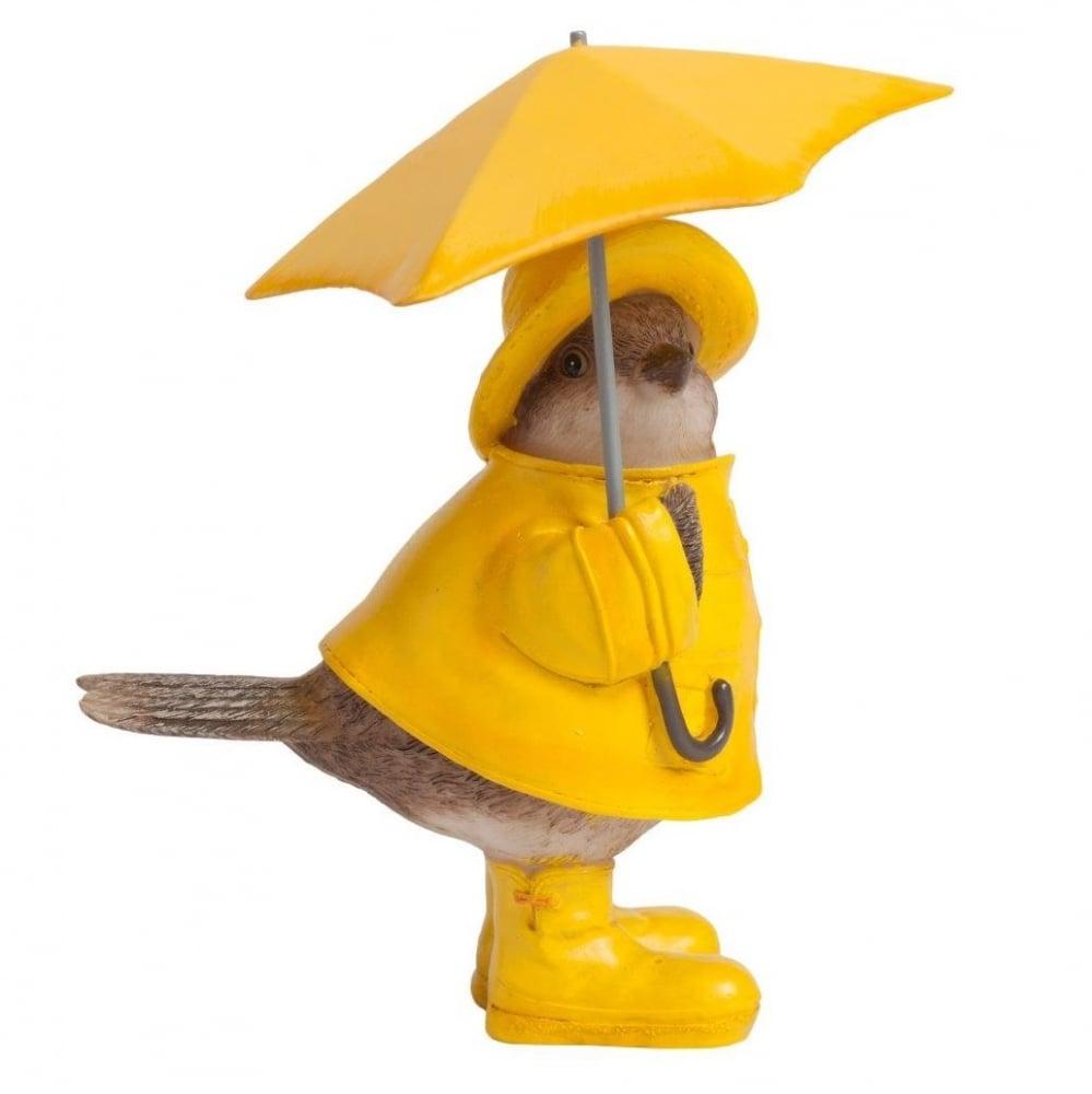 Статуэтка Chickabiddy с желтым зонтиком