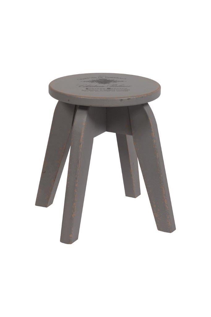 Купить Табурет Wisconsin (серый) в интернет магазине дизайнерской мебели и аксессуаров для дома и дачи