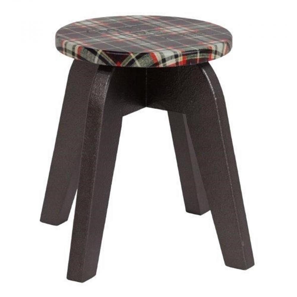 Табурет Wisconsin (коричневый)Табуреты<br>Стильный, современный табурет Wisconsin II создан <br>дизайнерами для удобства потребителей, <br>ценящих стильный комфорт. Изделие выполнено <br>из елового дерева и обладает повышенной <br>прочностью и долговечностью. Табурет покрашен <br>в практичный коричневый цвет, что позволяет <br>ему гармонировать со всеми предметами обихода. <br>Невысокие ножки делают высоту оптимальной <br>даже для детей. Круглое сиденье обтянуто <br>тканью в «шотландскую» клетку. Табурет <br>будет хорош в помещение уютной кухни, по-особому <br>теплой и душевной. Он придется ко двору <br>и в гостеприимной прихожей, и на террасе <br>загородного дома, в садовой беседке возле <br>дружеского стола. Табурет Wisconsin II удачно <br>впишется в каждую обстановку!<br><br>Цвет: Коричневый<br>Материал: Дерево, Поролон, Ткань<br>Вес кг: 2,9<br>Длина см: 25<br>Ширина см: 25<br>Высота см: 30