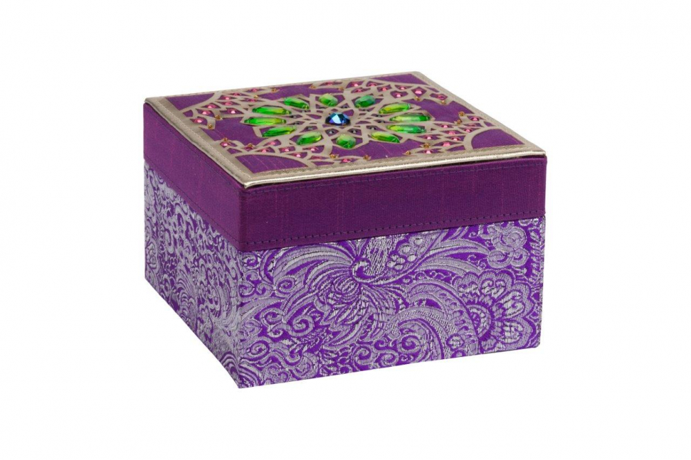Фото Декоративная шкатулка Blossom Violet. Купить с доставкой