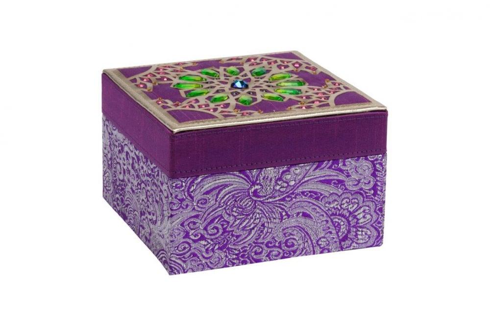 Декоративная шкатулка Blossom Violet