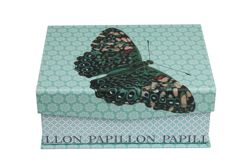 Купить Декоративная коробкас бабочкой Charmian Piccolo в интернет магазине дизайнерской мебели и аксессуаров для дома и дачи