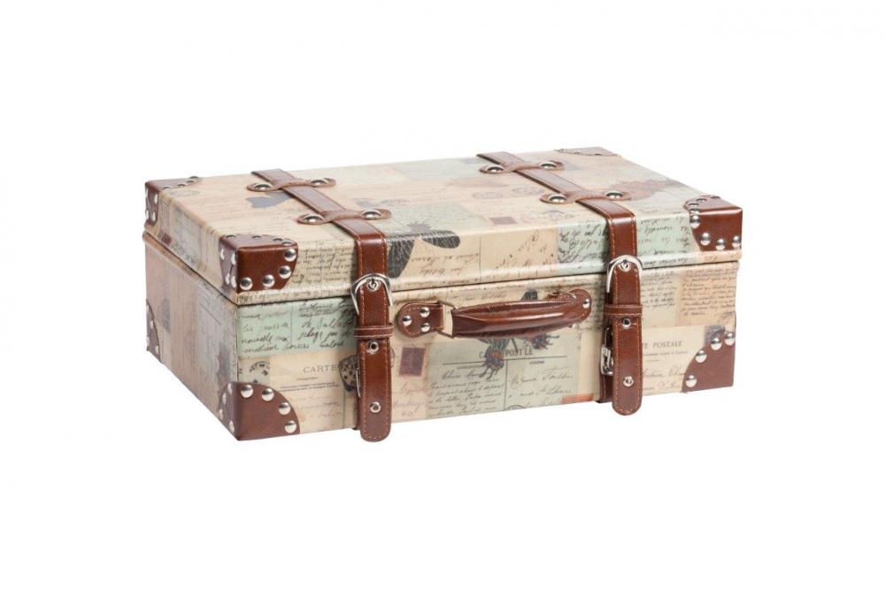 Кейс для хранения Darwin Madia DG-HOME Кейс для хранения Darwin Media — изящное произведение  прикладного искусства, изготовлен из дерева  (ель) и экокожи, при этом использована оригинальная  фурнитура. В декоре кейса преобладает бежевый  цвет с коричневыми ремнями. Данный аксессуар  можно использовать, в зависимости от вашей  фантазии, для хранения многих предметов,  или как декор вашего интерьера. Купите не  один, а несколько кейсов, разных по размеру,  из коллекции Darwin — и у вас будет уникальный  комплект, которого нет ни у кого.