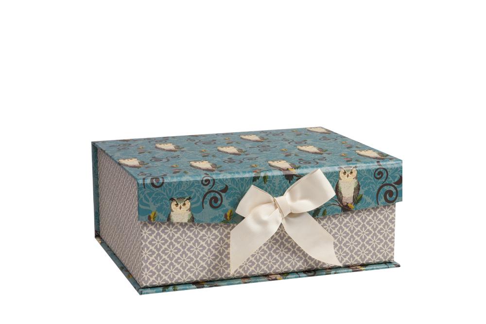 Купить Декоративная коробка с совами Shelby Piccolo в интернет магазине дизайнерской мебели и аксессуаров для дома и дачи