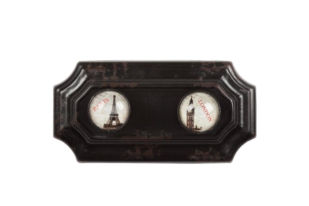 Купить Настенные крючки Eloise Black в интернет магазине дизайнерской мебели и аксессуаров для дома и дачи