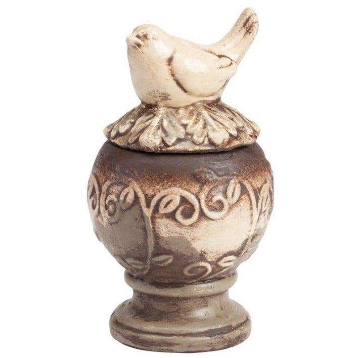 Предмет декора статуэтка птичка на шаре Colton Medio
