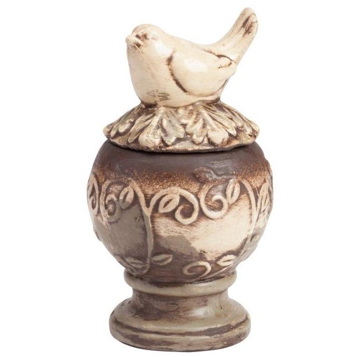 Предмет декора статуэтка птичка на шаре • Colton Medio, DG-D-1050-2