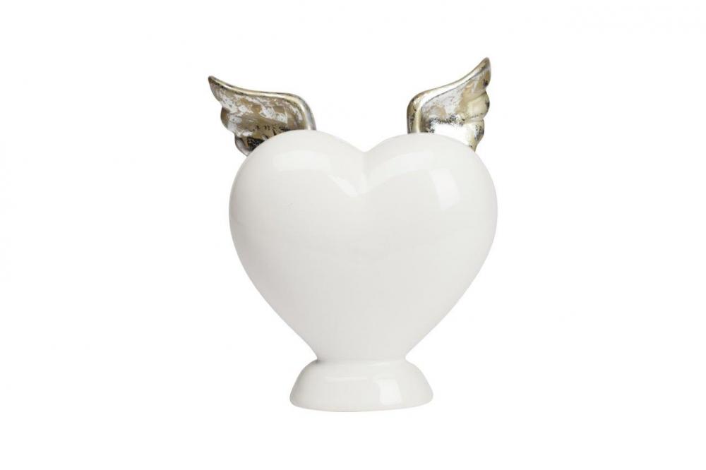 Предмет декора статуэтка сердце с крылышками Elspeth, DG-D-1052