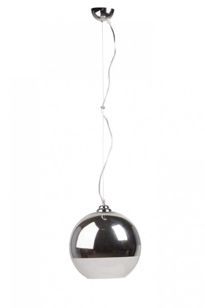 Подвесной светильник Gaspard D30Подвесные светильники<br>Удобный подвесной светильник Gaspard с металлическим <br>основанием крепится на тонкой гибкой подвеске. <br>Круглый стеклянный абажур в верхней части <br>немного затонирован, это удобно и эстетично. <br>Светильник выполнен в современном стиле, <br>создаст уютную обстановку в доме и в любом <br>учреждении. Предназначен для использования <br>со светодиодными лампами. Длина провода <br>84 см.<br><br>Цвет: Серебро<br>Материал: Металл, Стекло<br>Вес кг: 1,5<br>Длина см: 35<br>Ширина см: 35<br>Высота см: 30